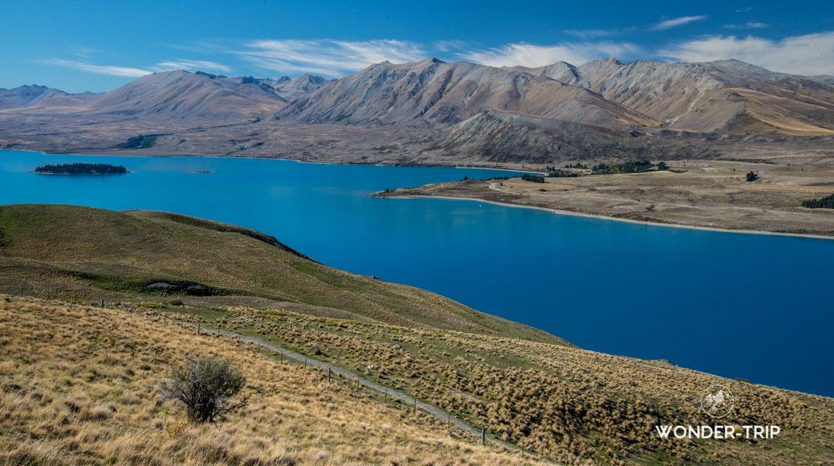 Lac tekapo randonnées - Mont John