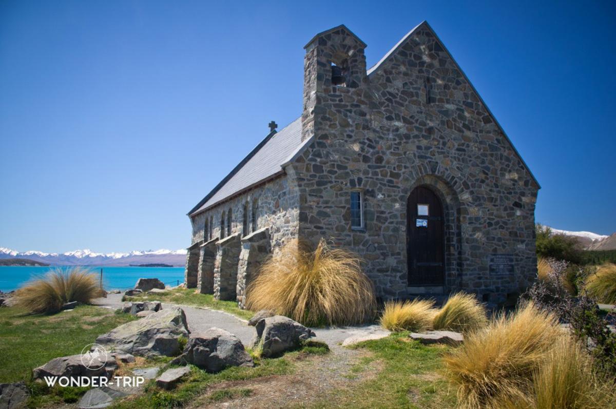 Eglise Good Shepherd au lac Tekapo
