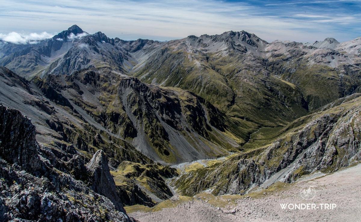 Randonnée de Temple basin - Arthur's pass