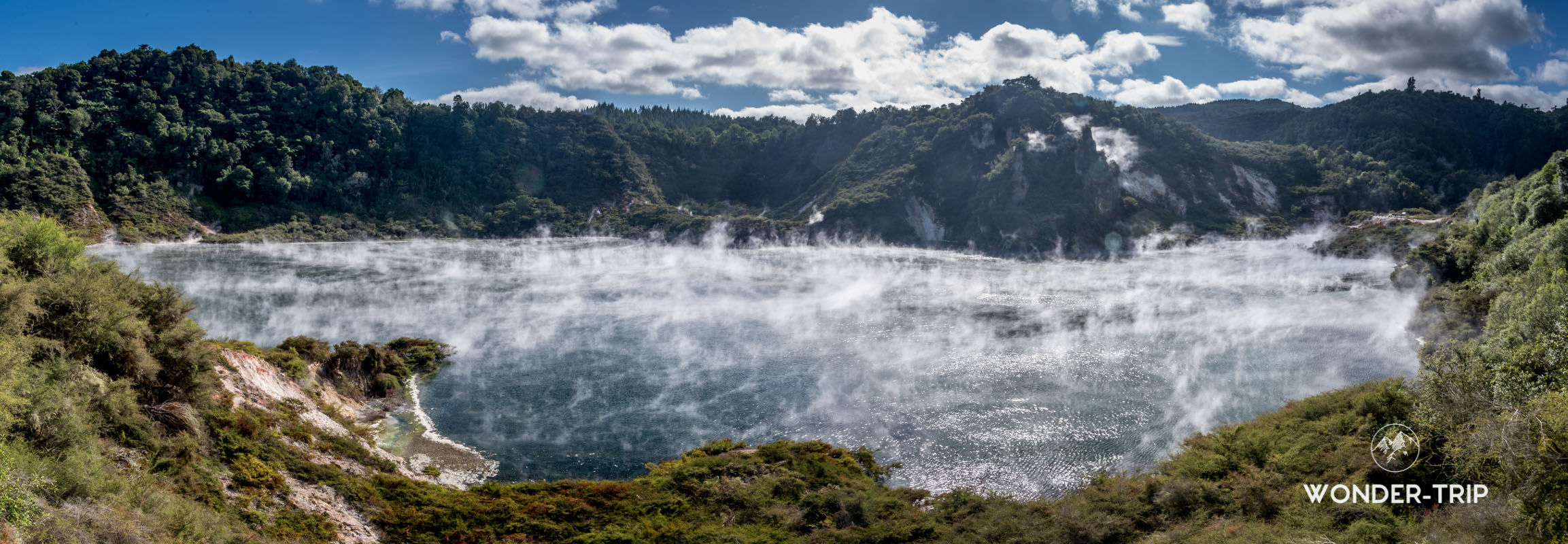 Frying Pan lake - Vallée volcanique de Waimangu