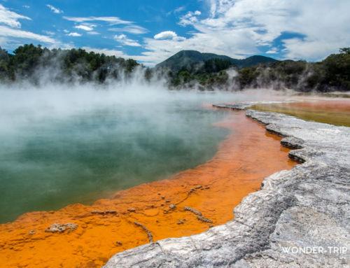 Wai-O-Tapu : Notre avis sur le parc – Champagne pool et Lady Knox geyser