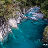 Haast pass - Blue pools