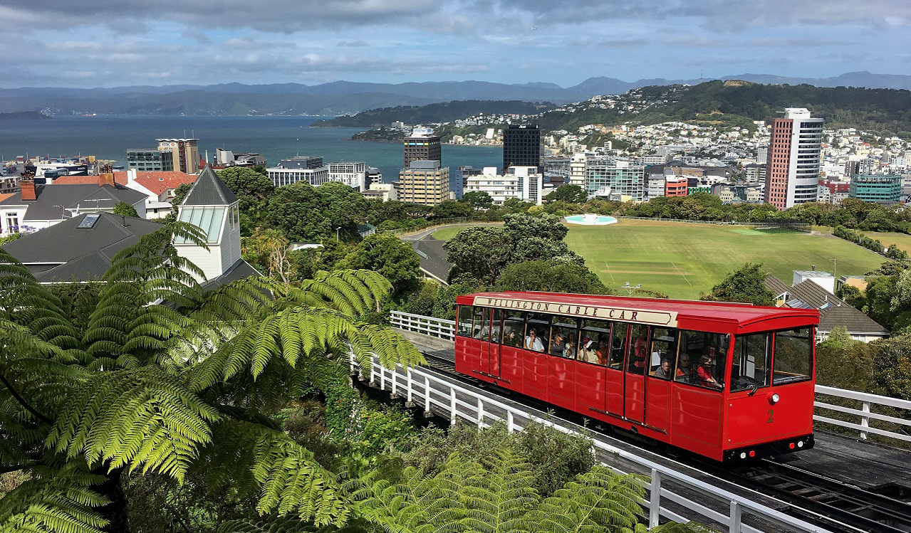 Cable car - Wellington