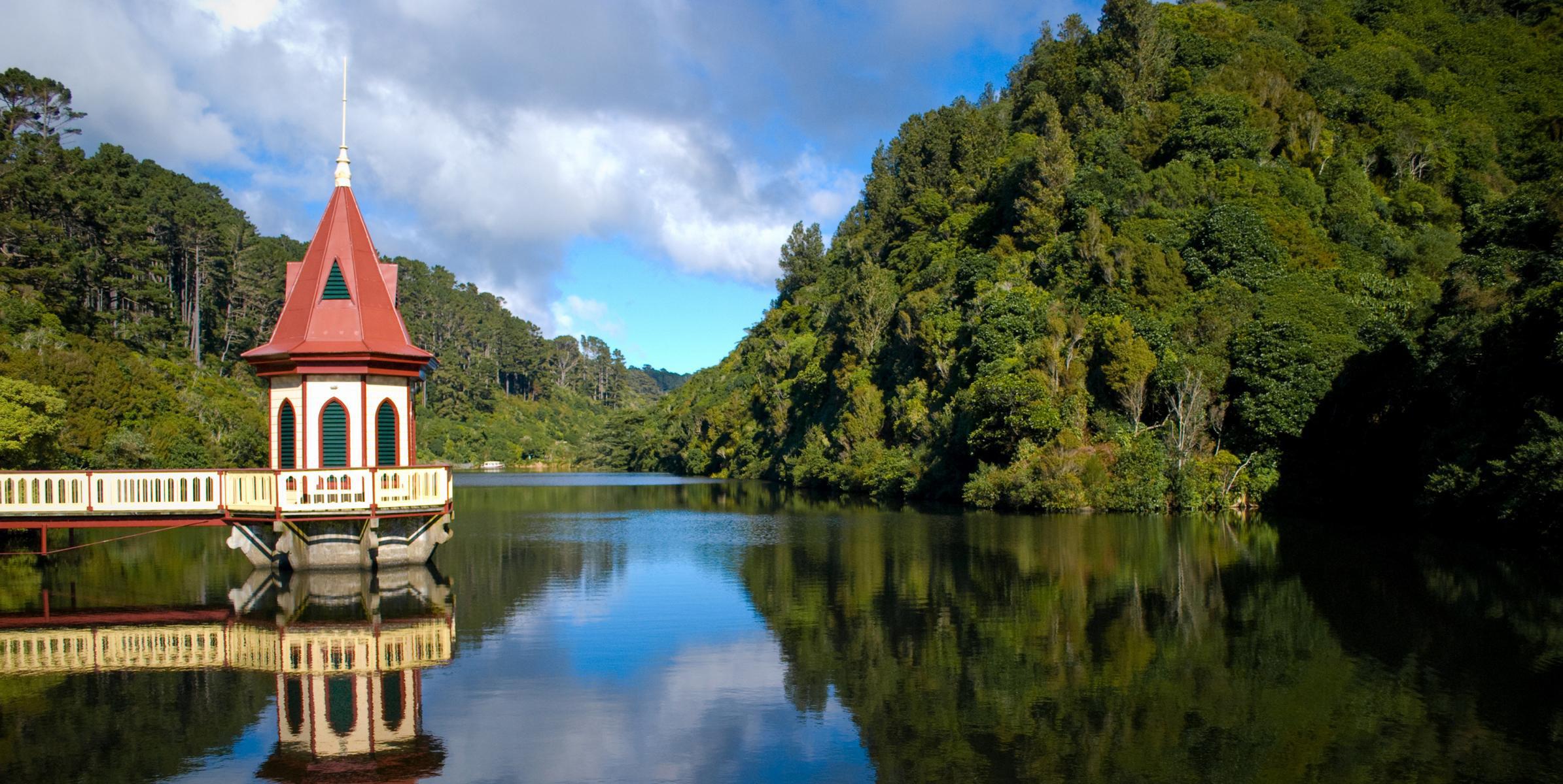 Lac à Zealandia