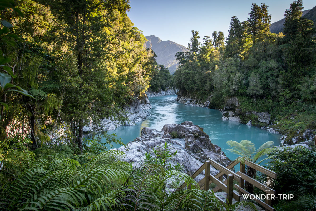 West coast - Hokitika gorge