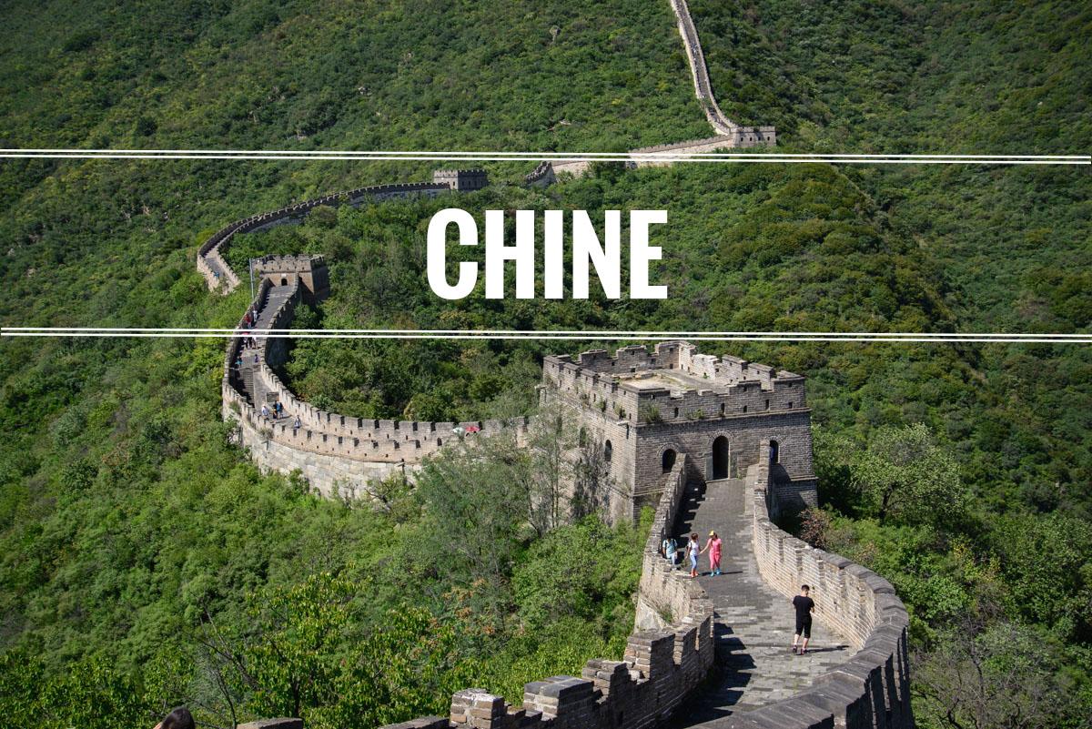 Explorer la Chine