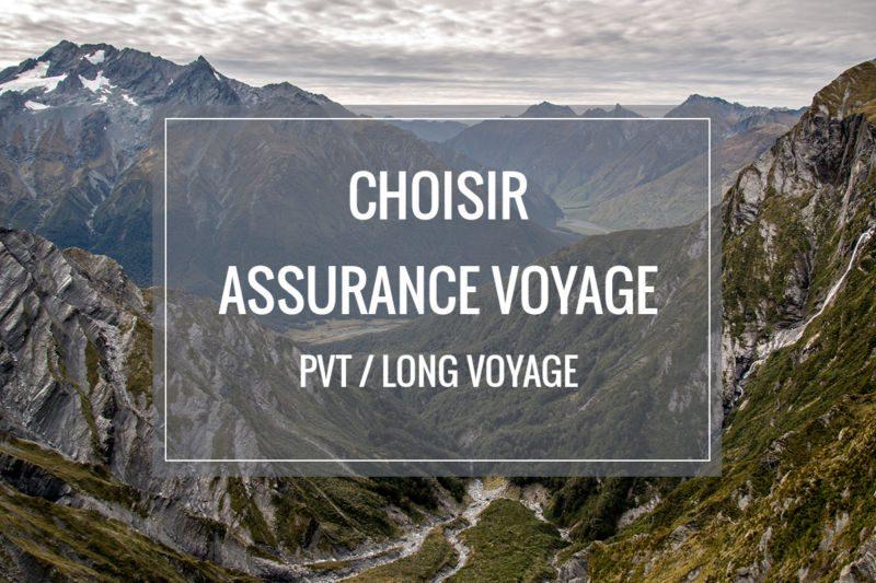Choisir son assurance voyage