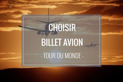 Comment choisir ses billets d'avion pour un long voyage ?
