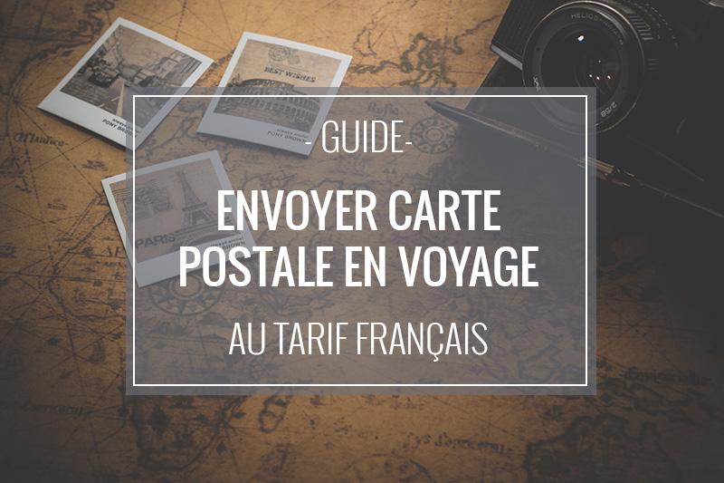 Comment envoyer une carte postale personnalisée depuis l'étranger ?