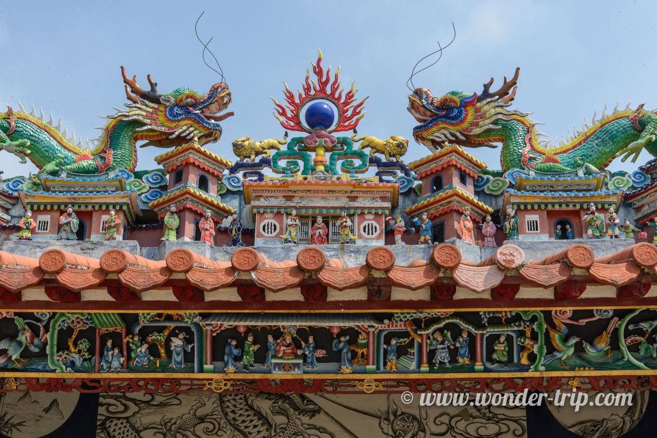 Temple Pak Tai sur l'île de Cheung Chau à Hong Kong