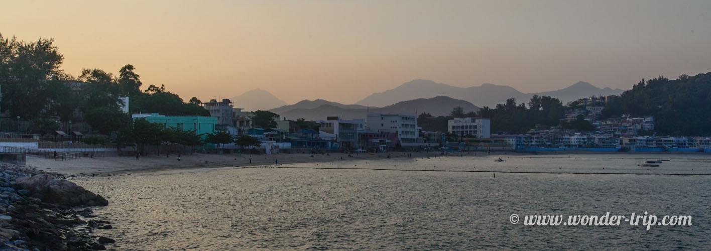 île de Cheung Chau à Hong Kong