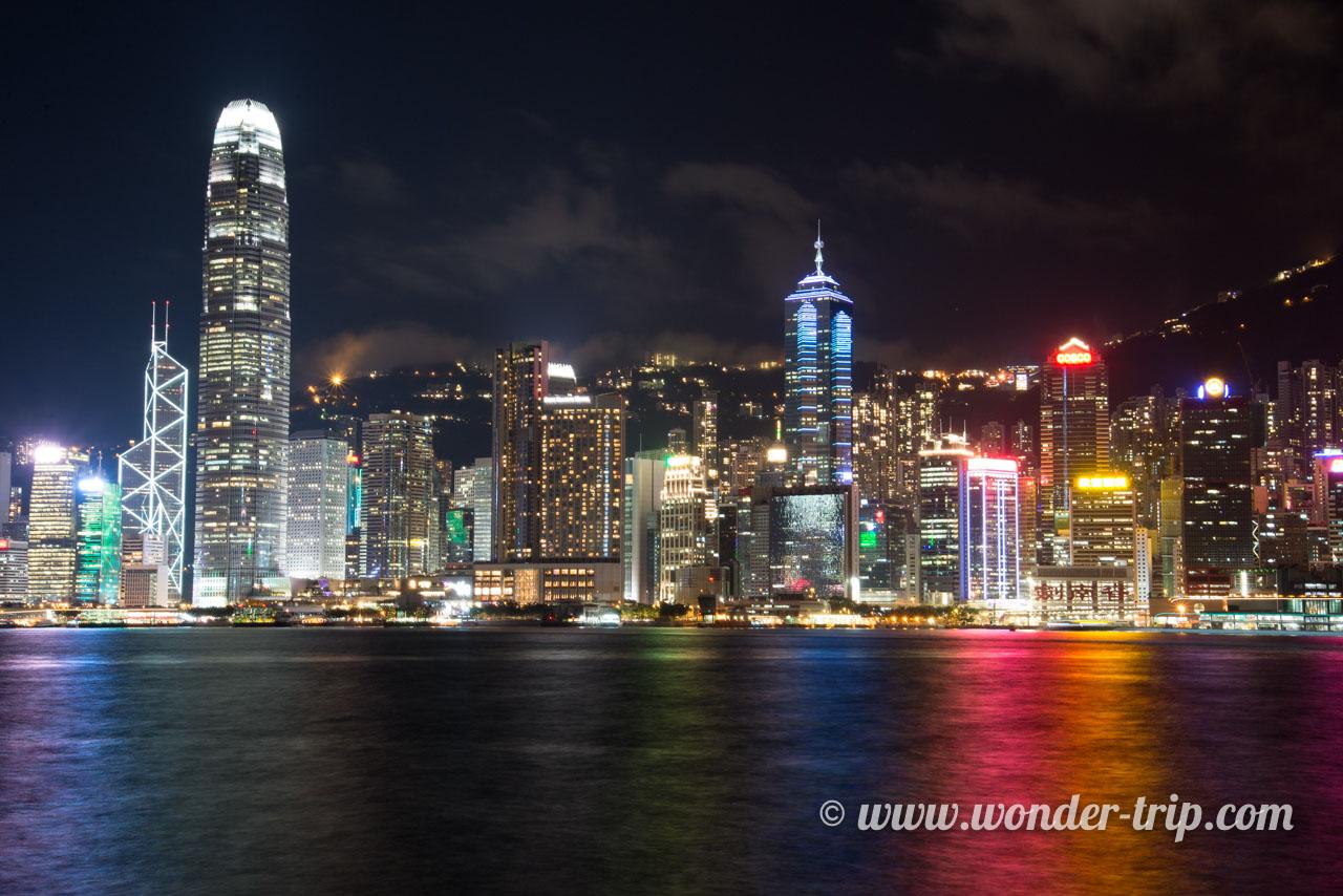 Skyline de Hong Kong - West Kowloon