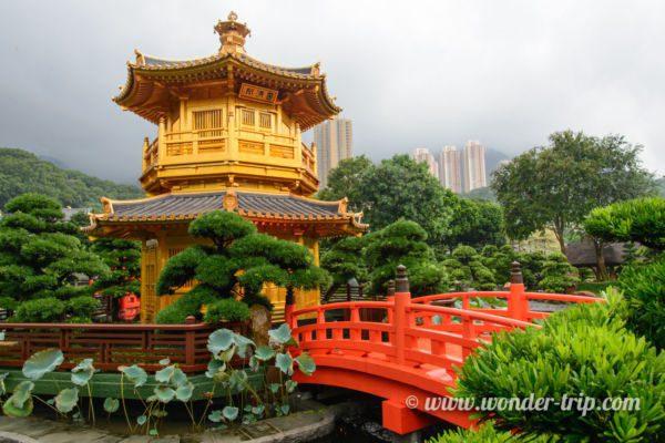 Jardin Nan Lian à Hong Kong