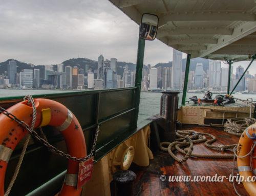 Embarquement immédiat pour le Star Ferry