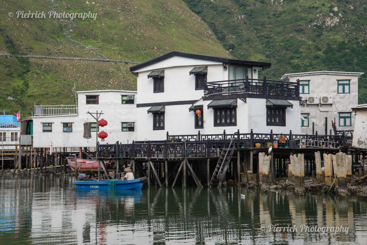 Village de pêcheur de Tai O à Hong-kong