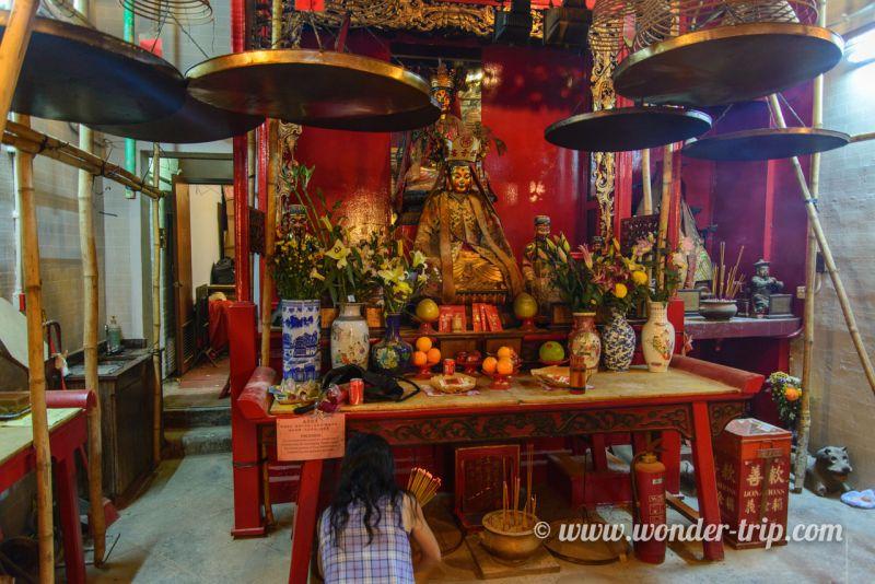 Temple Man Mo à Hong Kong